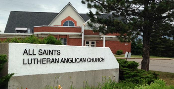 All Saints Signage